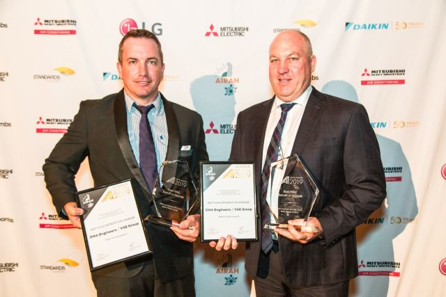 Best HVAC Retrofit or Upgrade AIRAH Awards 2019