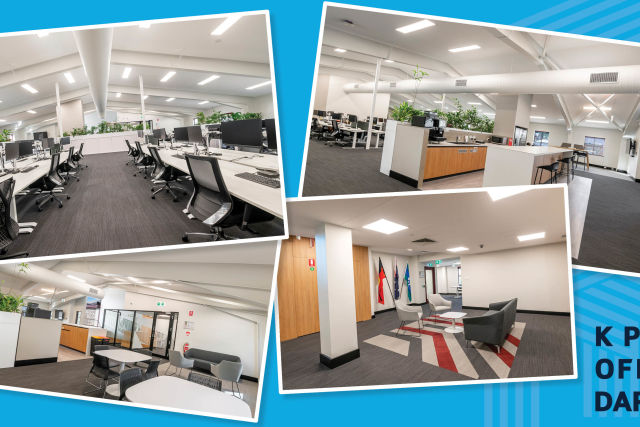 New Functional Space for KPMG Darwin